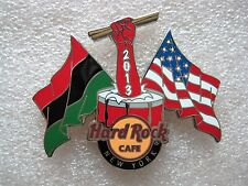 Hard Rock Cafe Pins - NEW YORK HOT 2013 BLACK HISTORY MONTH!