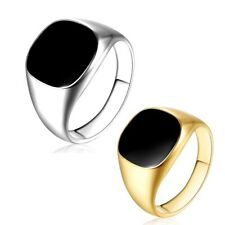 Fashion Punk Silver Rings Finger Band Men Wedding Party Jewelry Gifts Size 7-12