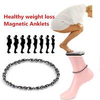 Magnetfeldtherapie Fußkettchen Perlen Hämatit Gesundheit Abnehmen Fußkettchen ML