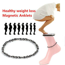 Health Slimming Anklet Jewelry Pes Magnetic Anklet Beads Hematite Stone