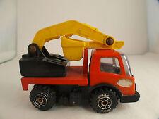 Tonka camion grue de chantier pelleteuse en métal et plastique 9 cm