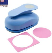 """Circle paper punch 3"""" 7.5cm XXL craft punches scrapbooking card making wedding"""
