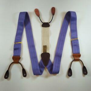 Trafalgar Brilliant Purple Classic Suspenders