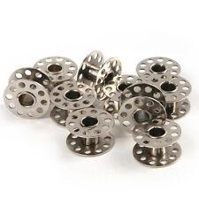 10pcs Stainless Steel Metal Sewing Machine Bobbins Brother Singer 21*10mm