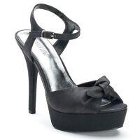 NIB~JENNIFER LOPEZ 'Fleur' High Heel Platform Dress Shoes~Black~Size 7.5, 8, 8.5