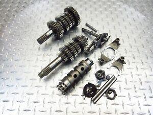 2003 03-04 Ducati Multistrada 1000DS Lot Transmission Gear Drum Fork