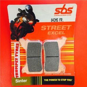 Aprilia 650 Pegaso Factory 07 > 09 SBS Front Brake Pads Sinter Set OE 842HS.FR