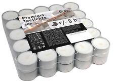 2 x 50 pz - Hofer tealight candele tea light candeline cera e antigoccia - 8 ore