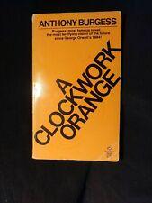 A Clockwork Orange by Anthony Burgess 1978 Paperback