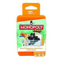 Shuffle - Monopoly Junior Deal Card Game with APP Children's Card Game