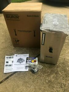 NEW Bunn TD4T Brew Thru Lid 4 Gallon Iced Tea Dispenser