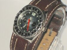 Rare Earlier Model Fossil Blue BQ-9175 Multifunction Diver Style Watch Works