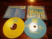 Now That'S What I Call Music! 1986 Queen/David Bowie/Pet Shop Boys/Duran 2 Cd Ex