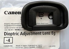 Canon Dioptric Lens Eg-4 for EOS 1DIV,1DX,1Dlll and 1Dslll,5Dlll,5DS,7D.7Dll