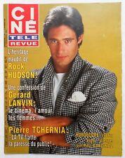 ►CINE REVUE 49/1985-GERARD LANVIN-PIERRE TCHERNIA-SACHA GUITRY-KEVIN COSTNER...