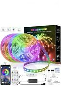 LED Strip Lights, 65.6FT/20M RGB with 600 LED Lights Color Changing Music Remote