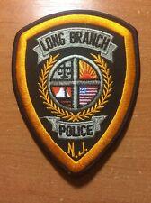 PATCH POLICE LONG BRANCH NEW JERSEY NJ STATE