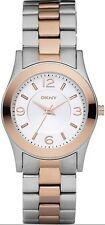 DKNY Watch * NY8232 Rose Gold and Silver Two Tone Steel Women COD PayPal