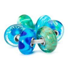TROLLBEADS Set 6 Beads in Vetro Incantesimo della Foresta TGLBE-00143