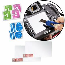 Movo (2 PACK) Optical Glass LCD Screen Protectors for Nikon D800 DSLR Camera