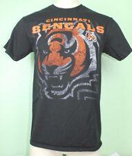 Majestic NFL Football Cincinnati Bengals Tiger Graphic T-Shirt - Medium