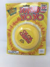"VINTAGE YELOW  4 "" Jumbo YoYo  OPEN IN PACKAGE"