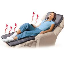 Full-Body Shiatsu Massage Mat with Heat and Handheld Controller
