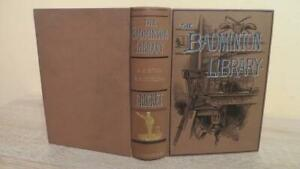 """1888 """"CRICKET"""" by STEEL & LYTTLETON- THE BADMINTON LIBRARY - NICE EARLY COPY"""