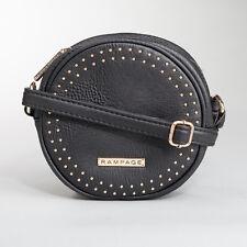 NEW Rampage Studded Crossbody Accessory Handbag - Black