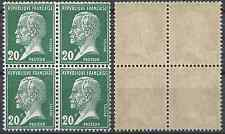 FRANKREICH PASTEUR NR.172 BLOCK 4 - NEUF LUXE ORIGINALE GUMMI - KURSWERT