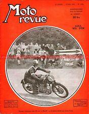 MOTO REVUE 1084 ZUNDAPP 200 AMC 175 Sport MOTOBECANE 125 GP SAN REMO 1950