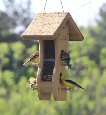 Kettle Moraine Mini Wave Finch Bird Feeder Thistle or Nyjer Goldfinch Feeder