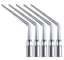 5x Dental Diamond Endo Endodontics Tips ED3D for DTE/SATELEC Ultrasonic Scaler