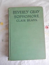 BEVERLY GRAY SOPHOMORE 1934 CLAIR BLANK