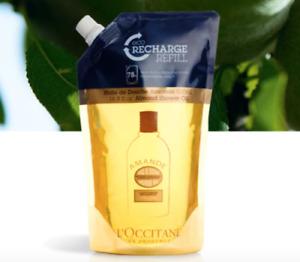 25%OFF L'Occitane Almond Shower Oil 500ml Echo-Refill Powerful Hydrate Delicious