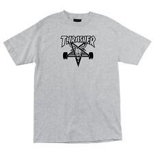 Thrasher Magazine Skate Goat Skateboard Shirt Ash Xl