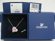 Swarovski Alana Heart Pendant, Pink, Lt.Rose Clear Crystal Authentic MIB 1062588