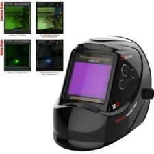 True Color Extra Large View Pro Solar Welding Helmet Auto Darkening-Welder Mask