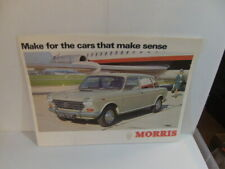 Morris – For the Cars that Make Sense 1968 12-page Sales Brochure