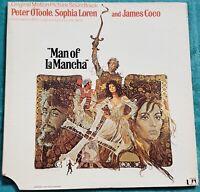 1972 Man Of La Mancha Original Sound Track Recording LP - Original Vinyl Album