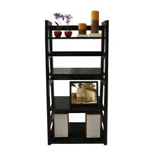 Convenience Concepts Designs2Go Trestle Bookcase, Black - 131410
