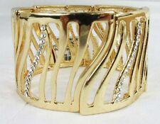 THALIA SODI Pave Tiger Stretch Gold-Tone Bracelet Msrp $26.50