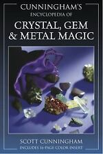 Cunningham's Encyclopedia of Crystal, Gem & Metal Magic (Cunningham's-ExLibrary