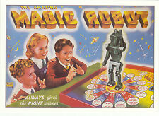 ROBERT  OPIE  ADVERTISING  POSTCARD  -  MAGIC  ROBOT