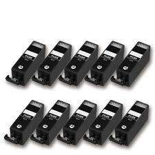10 Druckerpatronen für CANON Pixma MX925 MX920 MX725 MX720 PGI550PGBK (schwarz)