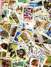 Animaux 4000 timbres différents oblitérés