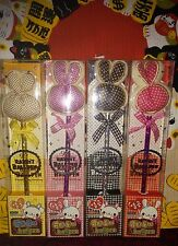 Korean Cartoon Rabbit Design Ball Pen 4 (Pink Yellow Fuchsia Black) Set