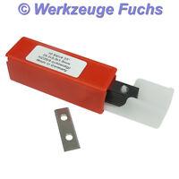 10 Stück HW (HM) Wendeplatten 30x9x1,5mm Z4 Wendeplatte Wendemesser