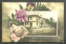 Valparaiso rppc Girls School Escuela de Ninas Chile 1912