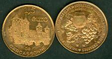1,5 EURO TEMPORAIRE DES VILLES DE CARCASSONNE 1997  ETAT  NEUF